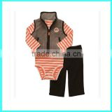 2016 boys waistcoat sets suit boy vest set child baby clothes