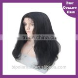 Wholesale Indian Remi Full Lace Wig With Baby Hair Top Quality Human Hair Wig Long Straight Hair