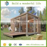 Movable Luxury Architecture Designed Wooden container House