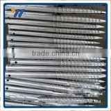 hot dipped galvanized fence post metal anchors for solar mounting systerms with low price and high quality