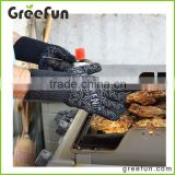 High Quality Wholesale Custom Logo Grill Glove , BBQ Grilling Glove , Mitt For Ove Oven Microwave Baking Cuisine Chef Campsite