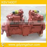 K5V140DT kawasaki hydraulic pump for excavator,Excavator hydraulic pump, k5v140dt hydraulic pump parts