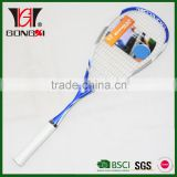 SMX980 BLUE new design full graphite squash racket/squash racquet with squash string