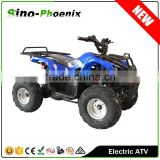 High Speed 48V or 60V Electric Quad ATV four wheel with Chain or Gear Transmission ( PE7018-H )