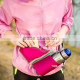 Top quality OEM mobil phone travel money purse wallet waterproof Sports running waist bag Waist Belt water bottle mugs pouch