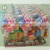 promotional kids Gift, Tropical Fish shape with pressed candy