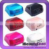 nail art 36W LED nail lamp for nail gel led and CCFL lamp