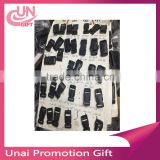 Flat Black Plastic Necklace Buckles Lanyard SAFETY Breakaway For Mobile Phone Strap