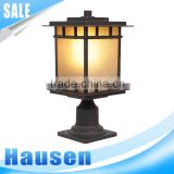 New products for 2016 stainless steel led solar garden lamp for garden