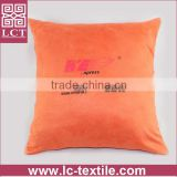 wholesale customized design logo imprint small body cushion with invisible zipper(LCTP0087)