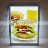 LED photo frame picture frame led lightbox aluminum led slim light box