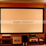 VS 100inch 16:9 HD Brightness Manual matt white Flat Fixed Frame Projection Screen for projector, home cinema