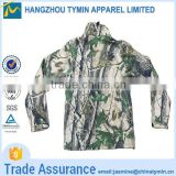 Breathable camping polyester winter mens military jacket