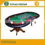 China made used casino poker tables deluxe poker table with solid wood legs
