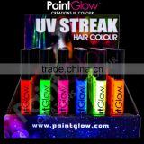 PaintGlow - Neon/UV Hair Mascara - Fluorescent Hair Streaks