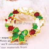 High quality korea style export japan christmas gift for women jewelry brooch bouquet