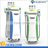 2016 newest fda approval 5 Handpieces cold body weight loss slimming cryolipolysis machine cellulite reduction equipment