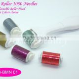 1080 Needles Cosmetic Roller With Collagen Injection For Body Roller Skin Care OB-BMN 01