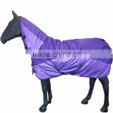 Pony Lightweight Waterproof Rug blanket Horse Fixed Neck 2 In 1 Mesh Cover Winter blankets