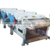 1to5roller textile tearing machine/waste cotton yarn opening machine/fabrics tearing machine