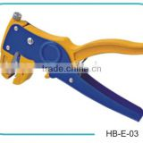 double duty automatic cable strippers, Aluminum Alloy wild range insulation wire stripper