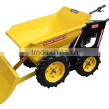 new design mini dumper with snow plow