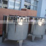 Stainless Steel Open Type Mixing Tank