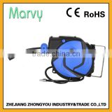 Pneumatic PU MESH extension retractable spring automatic air hose reel ZY02-12