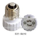 250V E27 to GU10 plastic screw shell lampholder adapter