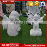 Hand Carved Mini Baby Granite Buddha Statue