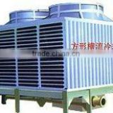 High temperature square cross circuit glass fibre reinforced plastics cooling towers