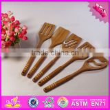 2016 new products bamboo kitchen utensil for cooking,household bamboo kitchen utensil,cheap bamboo kitchen utensil W02B024