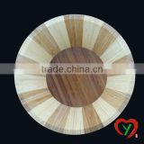 eco-friendly bamboo round rice salad bowl wholesale