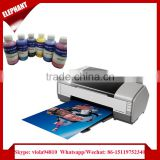 Tshirt a3 flatbed inkjet printer for sublimation textile with 6 color
