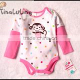 tinaluling girls long sleeve baby winter clothing,infant baby girls bodysuits