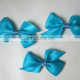 beautiful blue bow tie for hair