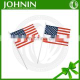 Polyester Cheap Durable Hardness high quality Plastic Flag Sticks