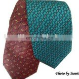 Men's Eco-friendly silk woven tie