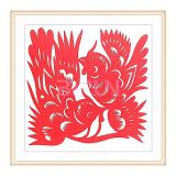 Hi On The Branches Chinese Paper Cutting