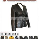 Ladies' Leather Coats ( HLI OEM Service), Sheepskin Long Coat for women