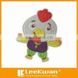 Cartoon Little Chicken Applique Embroidery For Kid's Garment And Decration