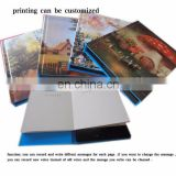 Factory Custom music books with sound button for baby