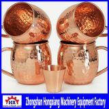 Handcrafted Copper MoscowMetal Spinning in CNC Auto Metal Spinning Lathe Machines Equipment