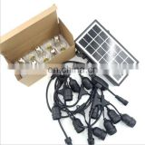 Serial Lights Decorative Remote Solar Outdoor Light String Christmas Led Light