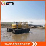 dredging machinery amphibious vehicle for swampland wetland