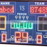 Hot selling electronic basketball or football LED scoreboard