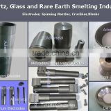 tungsten electrodes,crucible,spinning nozzle for quartz,glass and rare earth smelting industtry