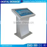 custom 32 inch HD indoor cheep price floor standing hotel/library/mall/restaurant digital signage player