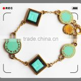 cooper plating GOLD fashion cheap fashion jewelry necklace                                                                         Quality Choice