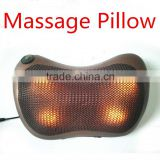 Electric home car use neck and back kneading massage pillow